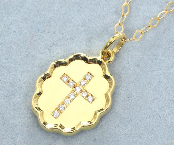 アーカー ネックレス ダイヤモンド ブランマリア K18YG