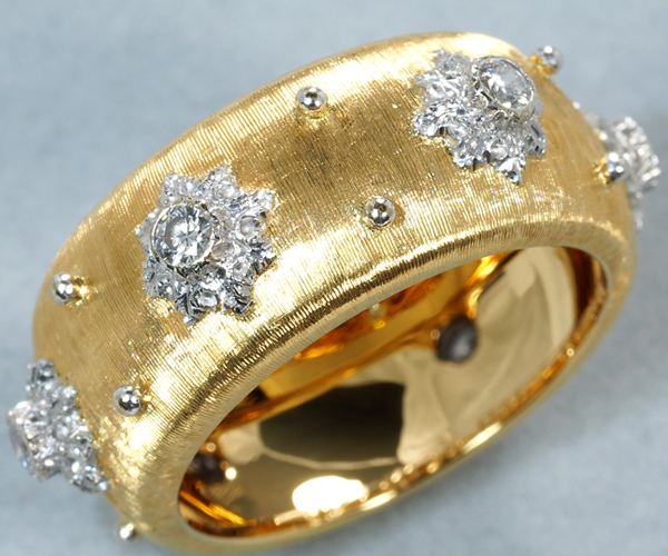ブチェラッティ リング ダイヤモンド 10号 K18YG/WG