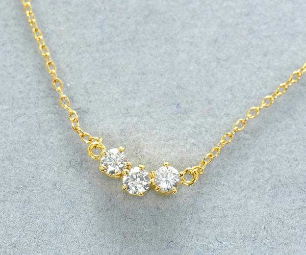 アーカー ブレスレット ダイヤモンド 0.10ct トレス K18YG