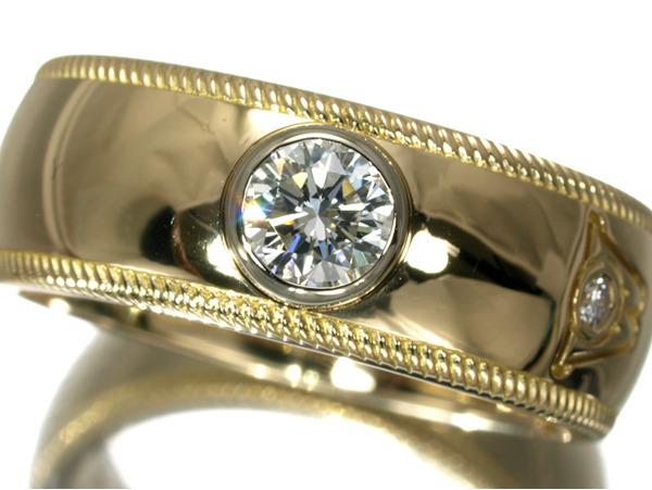 ウェレンドルフ リング ダイヤ ダイヤモンド リング K18YG