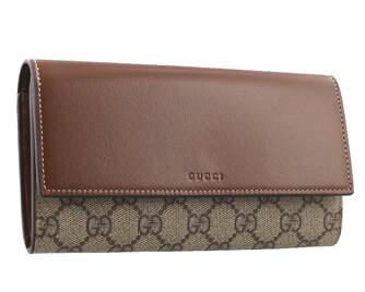 グッチ GGスプリーム Linea A 二つ折り長財布