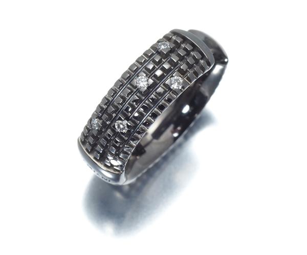 ダミアーニ ピアス ダイヤモンド メトロポリタン 片耳 K18WG