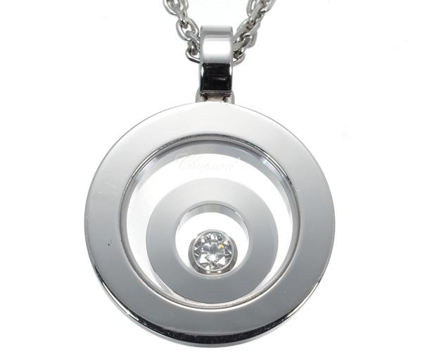 ショパール ネックレス ダイヤモンド ハッピースピリット K18WG