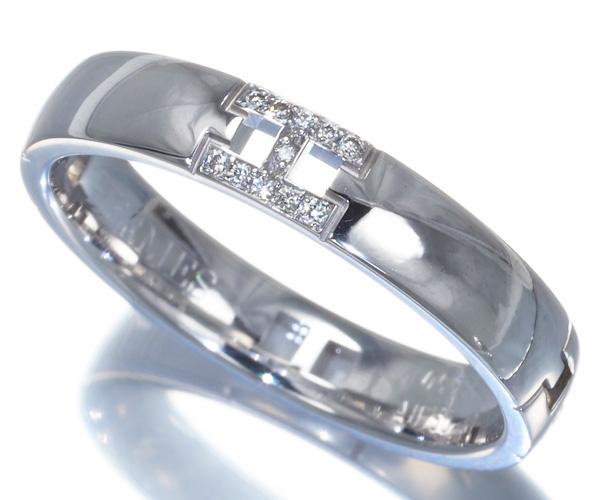 エルメス リング ダイヤモンド ヘラクレス 51号 K18WG