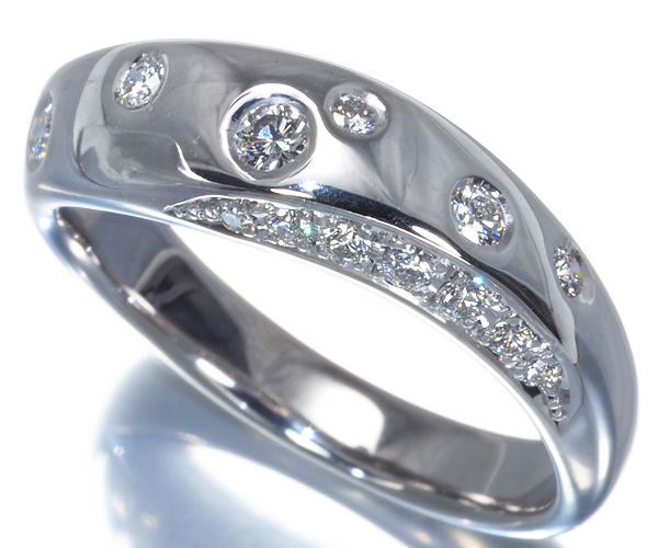 TASAKI タサキ リング ダイヤモンド 0.20ct K18WG