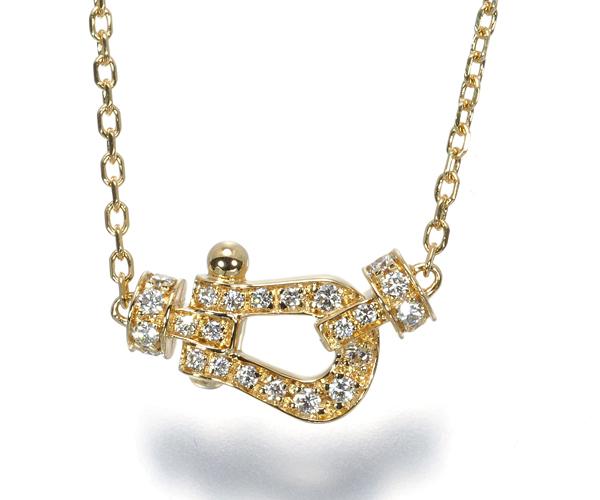 フレッド ネックレス ダイヤモンド フォース10 K18YG