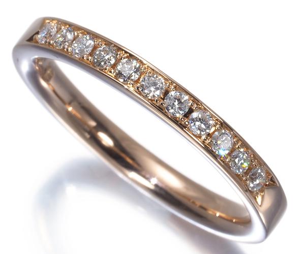 4℃ ヨンドシー リング ダイヤモンド 10号 K18PG