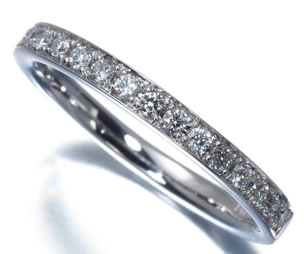 4℃ ヨンドシー リング ダイヤモンド ハーフエタニティ 11号 K18WG