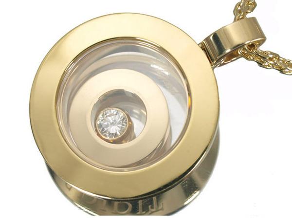 ショパール ハッピースピリット ダイヤモンド K18 ネックレス
