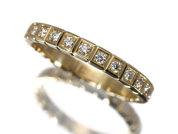 ショパール アイスキューブ ダイヤモンド リング K18