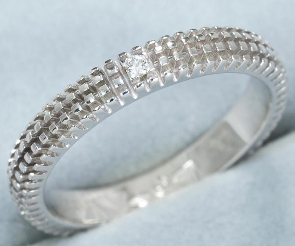 ダミアーニ リング ダイヤモンド メトロポリタン 12号 K18WG