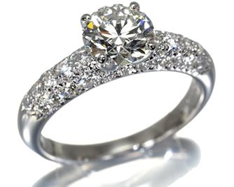 TASAKI タサキ真珠 リング ダイヤモンド 1.20ct J VS1 EX 0.50ct Pt1000