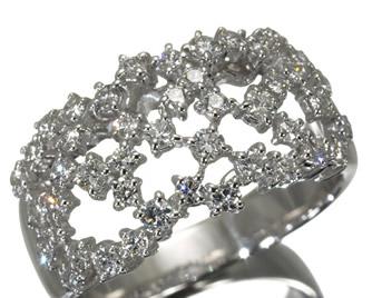 TASAKI タサキ真珠 ダイヤ ダイヤモンド 0.81ct リング K18WG