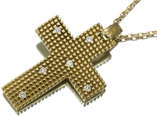 ダミアーニ メトロポリタンドリーム ダイヤモンド ネックレス K18YG  29.0×21.5mm