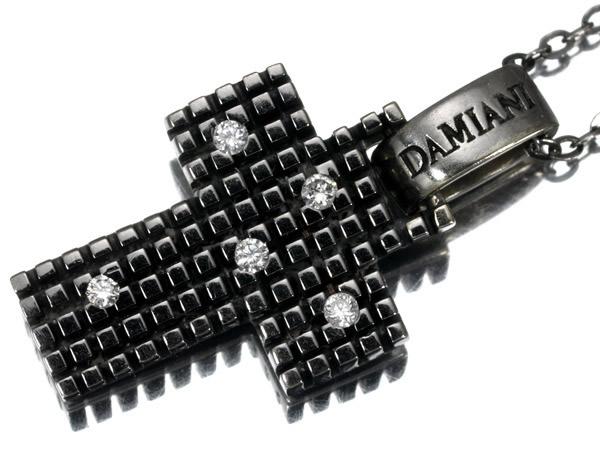 ダミアーニ メトロポリタンドリーム ダイヤモンド ネックレス K18WG 15.5×11mm