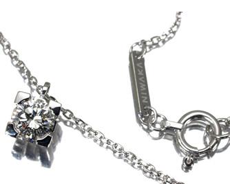 NIWAKA 俄(ニワカ) ダイヤモンド 0.30ct ネックレス K18WG