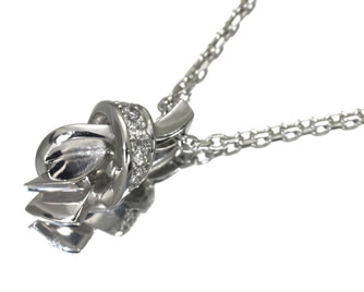 NIWAKA 俄(ニワカ) ネックレス  ダイヤモンド K18WG
