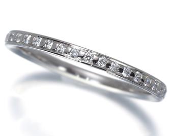 NIWAKA 俄(ニワカ) 『かれん』 リング ダイヤ ダイヤモンド Pt950