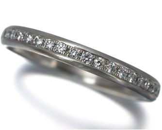 NIWAKA 俄(ニワカ) 『長閑』 リング ダイヤ ダイヤモンド Pt950