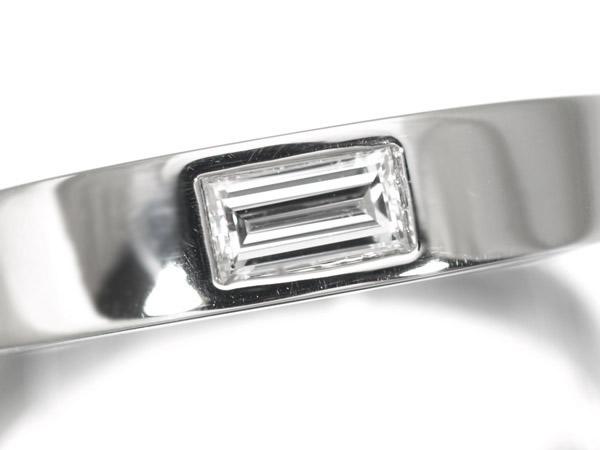 ハリーウィンストン バゲットダイヤモンド Pt950 リング