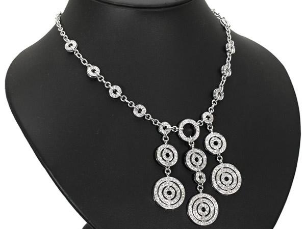 ブルガリ アストラ―レ ダイヤ ネックレス K18WG