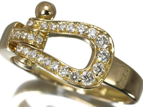 フレッド フォース10 フォーステン ミディアム ダイヤモンド リング K18YG