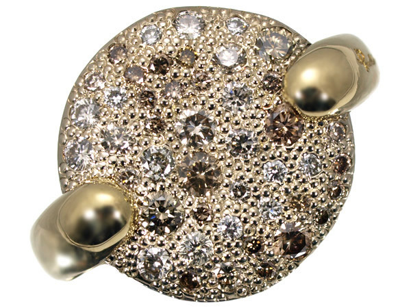 ポメラート サッビア ダイヤモンド K18 リング