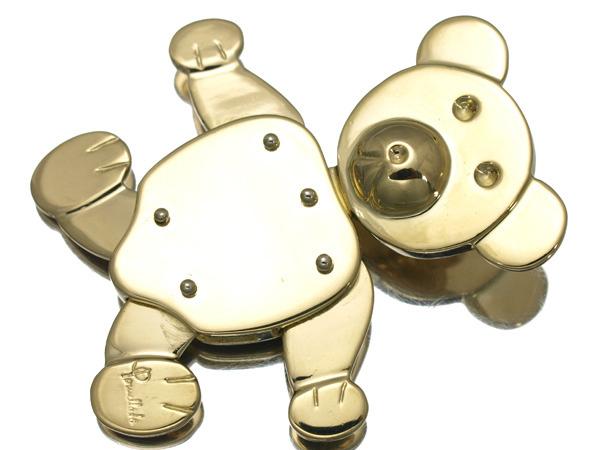 ポメラート ドド(DoDo)クマ K18 ペンダントヘッド