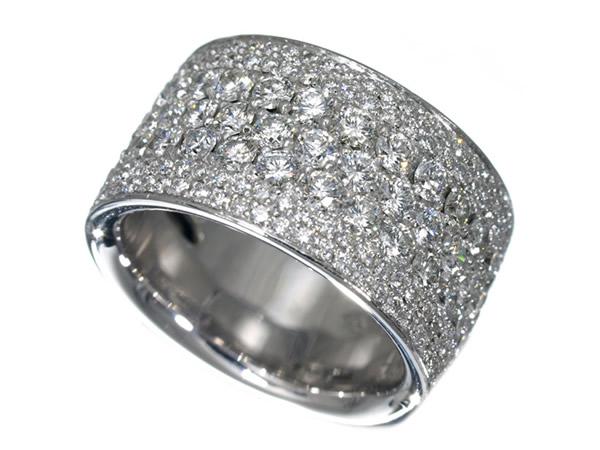 ポンテヴェキオ ダイヤモンド 2.69ct K18WG リング