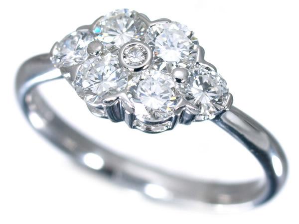 モニッケンダム ダイヤモンド 0.80ct プラチナ リング