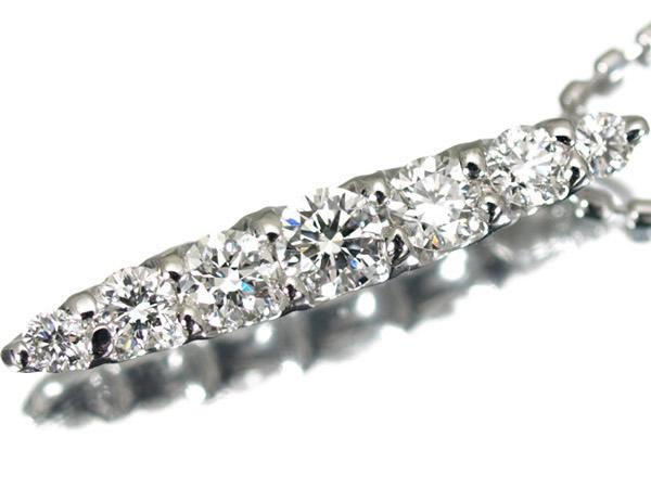 モニッケンダム ダイヤモンド 0.31ct プラチナ ネックレス