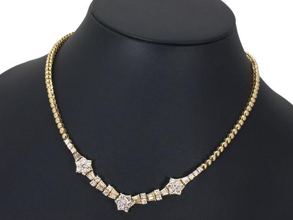 モニッケンダム 4.31ct ダイヤモンド ネックレス