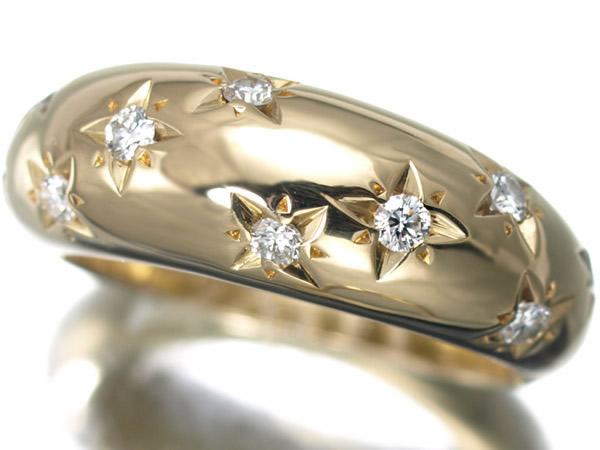 ヴァンクリーフ&アーペル カシオペア ダイヤモンド K18リング