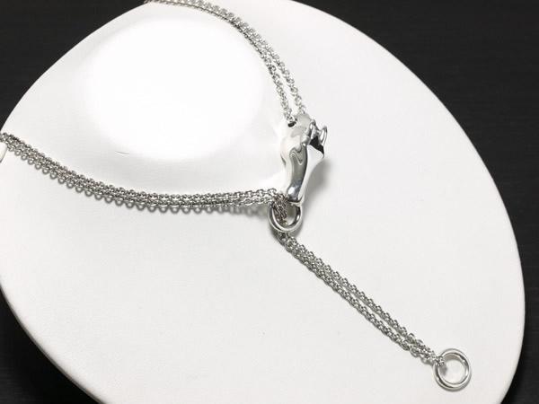 エルメス ホースデザイン ネックレス シルバー925