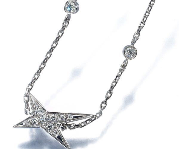 モーブッサン ブレスレット ダイヤモンド ニュアンス ア トア K18WG