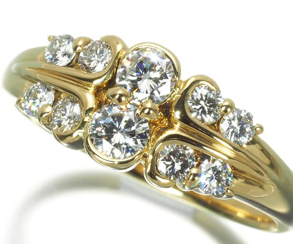 モニッケンダム リング ダイヤモンド 0.54ct K18YG