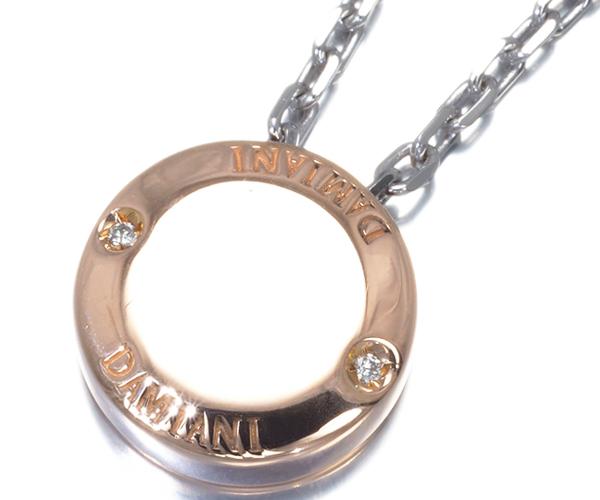 ダミアーニ ネックレス ダイヤモンド ブラゾー二 K18PG/WG