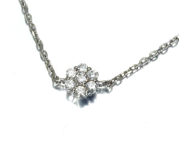 ヴァンドーム ブレスレット ダイヤモンド フラワー Pt950/Pt850