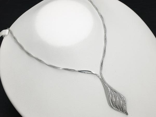 ウェレンドルフ ネックレス ダイヤ ダイヤモンド K18WG