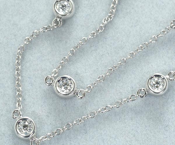 ポンテヴェキオ ブレスレット ダイヤモンド 0.22ct K18WG