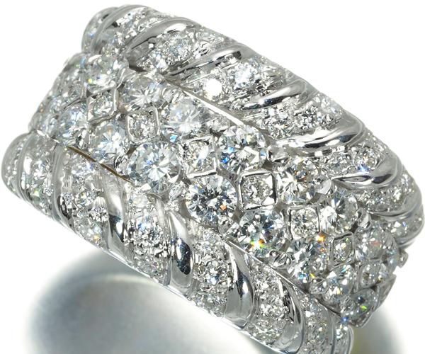 ダミアーニ リング ダイヤモンド 1.90ct 12号 K18YG/WG