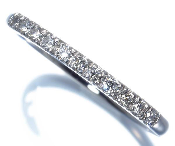 4℃ ヨンドシー リング ダイヤモンド ハーフエタニティ 11号 Pt995