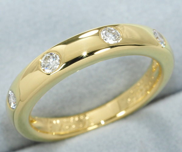 ヴァンクリーフ&アーペル リング ダイヤモンド K18YG