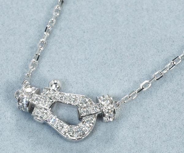 フレッド ネックレス ダイヤモンド フォース10 ミニ K18WG