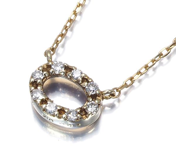 ヴァンドーム ネックレス ダイヤモンド  K10YG