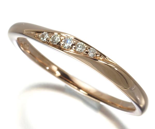 4℃ ヨンドシー リング ダイヤモンド 7号 K10PG