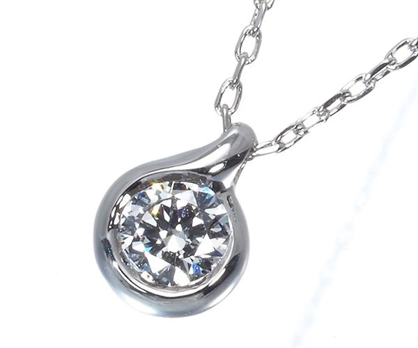 フォーエバーマーク ネックレス ダイヤモンド 0.101ct Pt900/Pt850