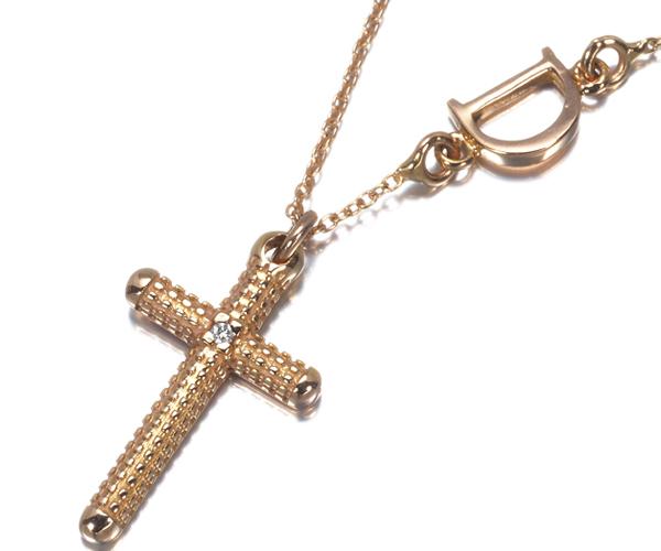 ダミアーニ ネックレス ダイヤモンド メトロポリタンドリーム クロス K18PG