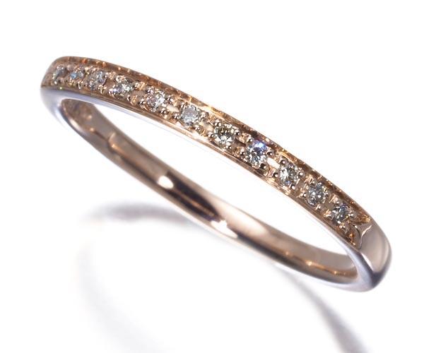 4℃ ヨンドシー ピンキーリング ダイヤモンド 5号 K10PG