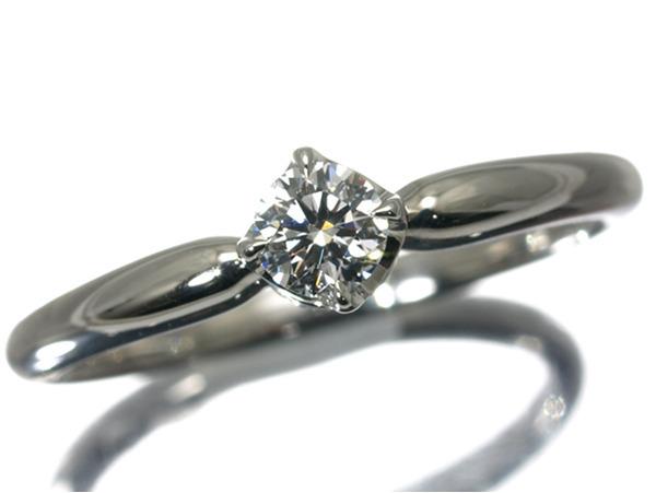 4℃ ヨンドシー ディズニーコレクション ダイヤ ダイヤモンド 0.166ct リング Pt950